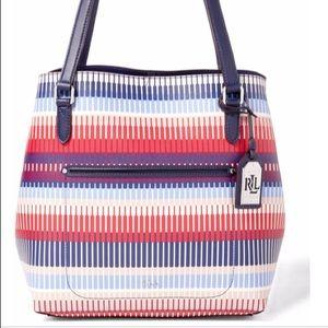 NWT Ralph Lauren Tote Handbag